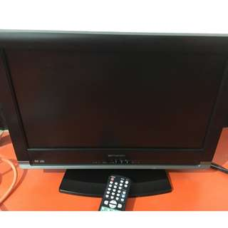 Emerson ld195emx LCD flat TV with built in DVD player.