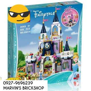 New Arrival Cinderella's Dream Castle Building Blocks Toy