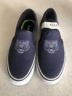 Kenzo Paris 帆布鞋 懶人鞋 深藍