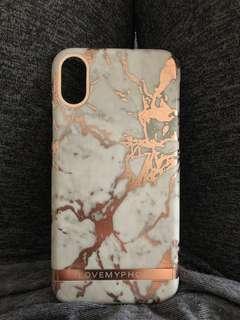 iPhone X 大理石 手機殼