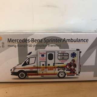 Tiny 城市104轉院救護車