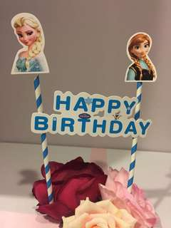 Frozen Birthday Cake Topper