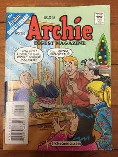 Archie comic no.203
