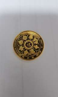 Buddha Tooth Relic Gold Coin