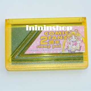 Sailor Moon 美少女戰士 Q版月野兔 印台 1996年出品絕版 Comic Fans Stamp Pad 包郵