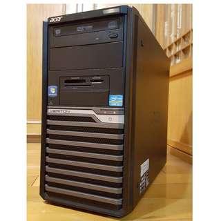 缺貨中--Acer大品牌電腦主機Intel i5-2320 /HDD 500GB頂級正四核心 非雙核 機殼 3C