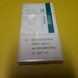 Vintage Korea ESSE Menthol Super Slim 20