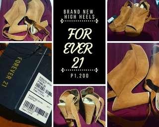 FOREVER 21 High Heels (Gamuza)