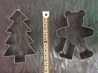 Cutters, Number 1 Cake Mould, Piping Tips