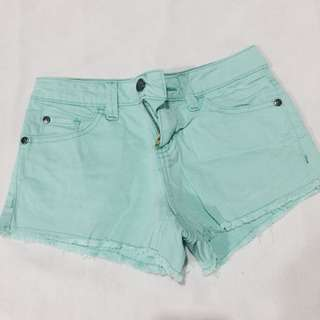 Forme Teal Shorts