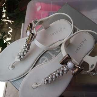 Holster White Sandals