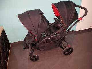 Contours Option elite double pram