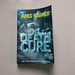 THE DEATH CURE by JAMES DASHNER (MAZE RUNNER)