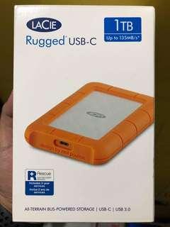 Lacie Rugged 1TB hard drive
