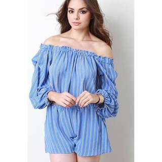 Offshoulder Terno Top and Short =- COD
