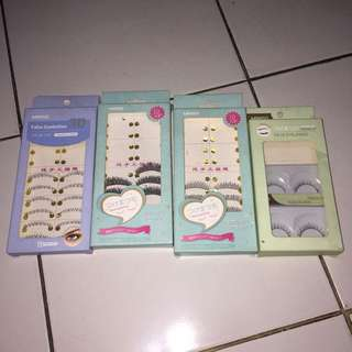 Fake lashes (jual sepaket)