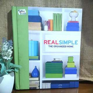 Real Simple, The Organized Home