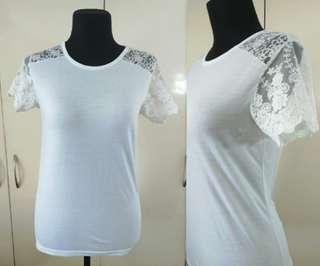 Preloved Korean Lace Top