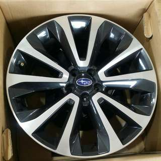 18 inch rims with tyres