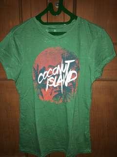 tshirt coconut island