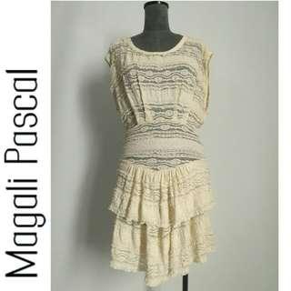 Magali Pascal lace crochet playdress