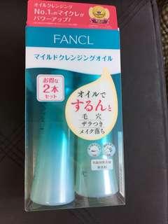 Fancl 落妝油/Fancl卸妝油