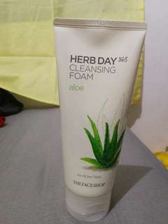 The Face Shop Herb Day Cleansing Foam