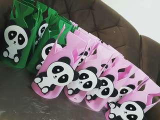 Panda party goodie bag souvienir