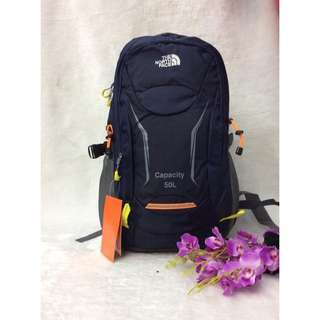 D North Face 50L Backpack