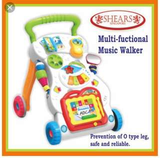 Almost new Shears baby walker