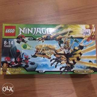 Lego Ninjago Set The Golden Dragon