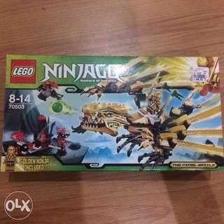 Lego Ninjago Set The Golden Dragon