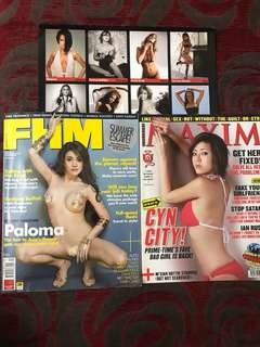 FHM & Maxim Magazine and 2008 Calender