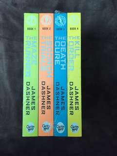 Brand new Maze runner set