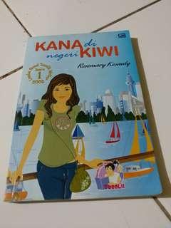 Novel Kana di Negeri Kiwi