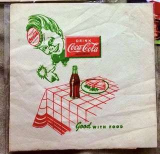 Vintage Coke Tissue