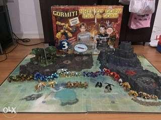 Gormiti Series 1 and 3 Island of Gorm