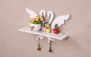 Rak Dekorasi / Rak Dinding / Rak Gantung - Angsa / Swan