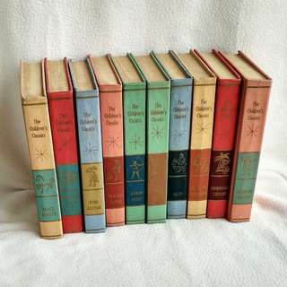 Lot Sale: 10 Volumes 1961 The Children's Classics Hardcover Books  -  J.G. Fergusan Publishing