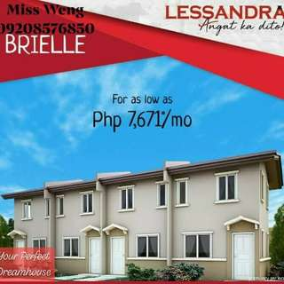 Brielle Townhouse Lessandra Series 2Br And 1Toilet/Bath