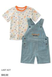Baby Romper baby Jeans Calvin Klein 100% authentic overall set