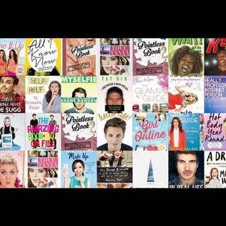 youtuber books ❤️