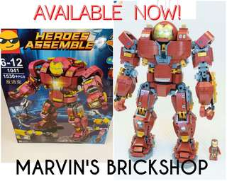 Limited Stocks Only Latest Iron Man Hulkbuster Ultron UCS Big Edition