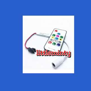 RGB controller and remote control underdeck led