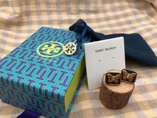 Tory Burch Butterfly Earrings