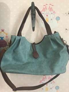 Sling bag soft blue