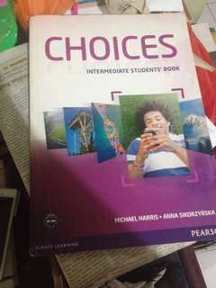 Dijual buku choices intermediate students book