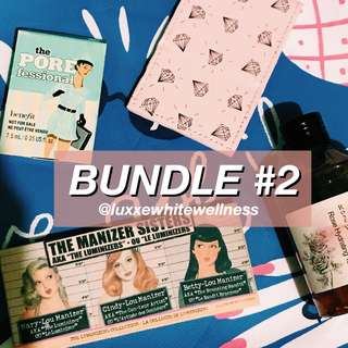 BUNDLE #2 LUXXEWHITEWELLNESS