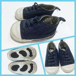 Fox Blue Denim Sneakers (Converse-style)