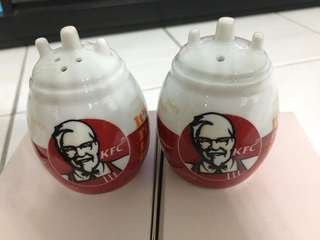 KFC Pepper and Salt container
